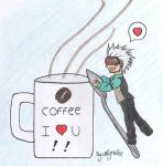 Prosecutor Godot- Coffee I love U by By-Blythlee