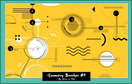 Geometry Brushes#4 by smallElnis