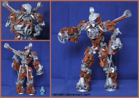 Bionicle MOC: Stator by Rahiden