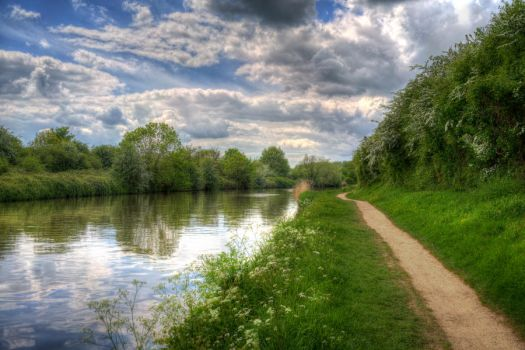 Spring on the Canal by jon-hill987