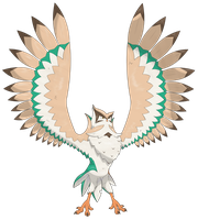 Ornyxleafge - Rowlet Final Fakevolution! by Guypopcorn