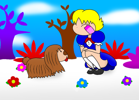 Lila Visits the Magic Roundabout by DrawtoonzStudio