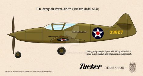 Tucker XP-57 by Bispro