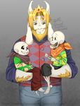 [Handplates Spoilers!] Goat dadding by InsertSomthinAwesome