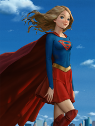 SUPERGIRL by porksiomai