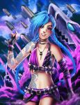 LoL: Jinx by RetkiKosmos