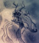 Mythical Creature Slua - Watching the city by Yulia-a-99
