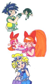 PPG meets PPGZ by Porcubird