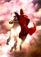 Jesus, Rider on a White Horse by TheRed