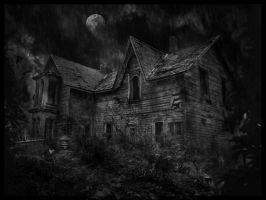 Haunted house by motherofpearls