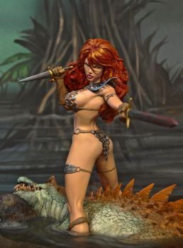 Marc Silvestri's Red Sonja by Joy-and-Tom-Snyder