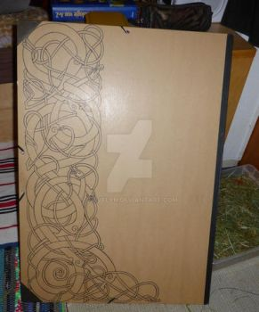 urnes style knotwork by Feivelyn