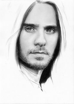 Jared Leto - WIP eh... 3 by Cataclysm-X