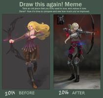 Meme  Before And After by Shetrix
