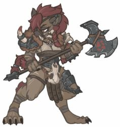 MonsterGirl_010 Gnoll Chief (BOSS) by MuHut
