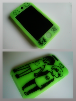 Homestuck iPod by GreenRingo