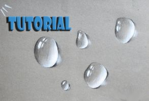 how to draw a water drop video tutorial bellow by Unfor-street-arT