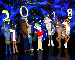All together for this 2018! by marlon94