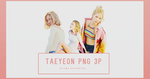 TaeYeon WHY Part5 3P PNG by vul3m3