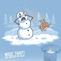 Nose Thief - tee by InfinityWave