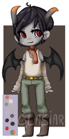 Demon adoptable [CLOSED] by Glasiar
