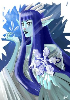 Queen of Snow by daval-G