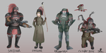 Gahaan Soldier design types by ChromeFlames