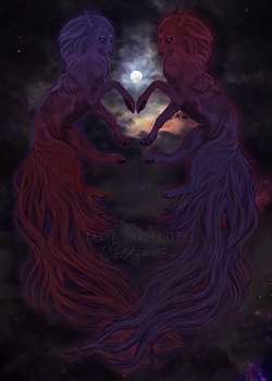 Sisters of the Full Moon by vethysnia