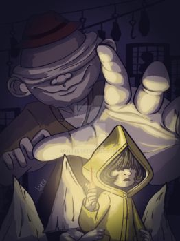 Little Nightmares poster by 12LE5