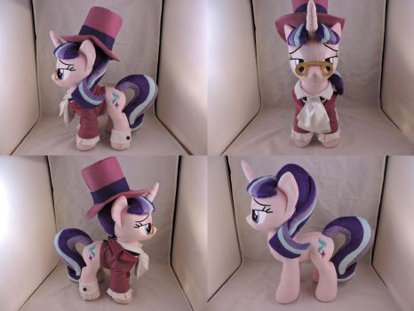 MLP Starlight Glimmer Snowfall Frost Plush (commis by Little-Broy-Peep