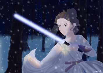 Rey - Use the Force by PimpernelPirateWolf