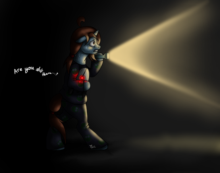Artisia investigates with Inspector Turret by brat-the-twitchy-one