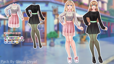 CDMU Pack - Random - By Ginna Deyal by GinnaDeyal