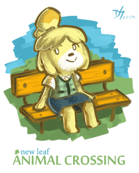 isabelle. by devi-san