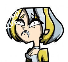 Gwen's White and Gold hair by Acidbolt-06