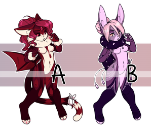 Misc. Adopts  [[SOLD]] by Omega-Fluff