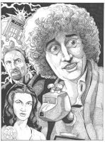 4th Doctor by Batman4art