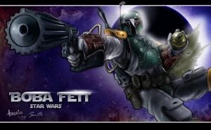 Boba Fett - Colored by emenous