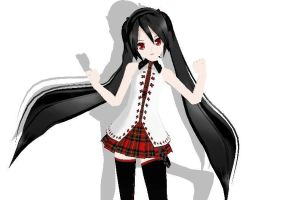 Newcomer Lat Plaid Zatsune DL by x-MiharuChan-x