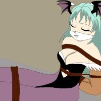 Kidnapped Morrigan by ssvineman