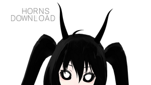 [MMD PMX] Horns [DOWNLOAD] by mikizupageonyoutube