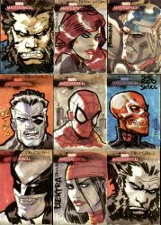 Marvel Cards One by urban-barbarian