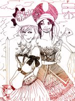 Nyotalia - Pirate Queens by Ana-Kat101