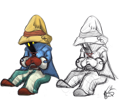 Little Mage by BlazingBlackMage