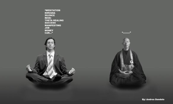 Meditation is not What You Think! by meSarmoung