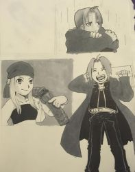 Miscellaneous FMA Panel Redraws by EnderDurant