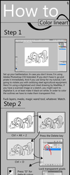 Photoshop Coloring Tutorial 1 by Apple-707