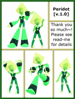 Peridot MMD Model download (V.1.0) by Pikadude31451