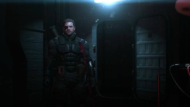 Snake in the shadows - MGS5 PP by PlanK-69