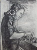 A dj Sketch by makeupandmayhem